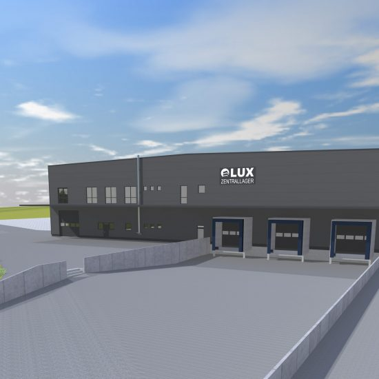 Neubau LUX Zentrallager oHG